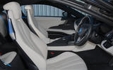 BMW i8 Coupe 2018 UK first drive review cabin