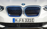 BMW iX3 2020 first drive review - nose