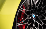 4 BMW M4 2021 UK first drive review brake calipers