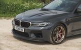 4 BMW M5 CS 2021 UK FD nose