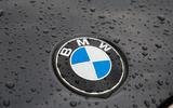 BMW X3 M40i 2018 UK review roundel