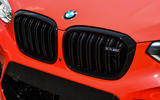 BMW X4 M Competition 2019 first drive review - kidney grille