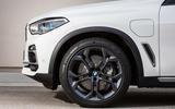 BMW X5 xDrive 45e 2019 UK first drive review - alloy wheels