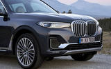BMW X7 2019 first drive review - front end