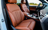 BMW X7 M50i 2020 first drive review - cabin