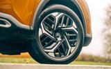 Citroen C4 Puretech 2021 UK (LHD) first drive review - alloy wheels