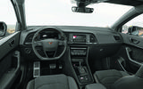 Cupra Ateca 2018 prototype first drive review cabin