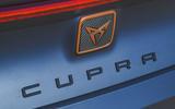 4 Cupra Leon 2021 UK FD rear badge