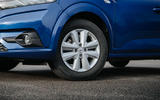 4 Dacia Sandero BiFuel 2021 UK first drive alloy wheels