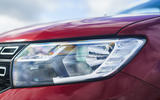 Dacia Sandero Stepway Techroad 2019 first drive review - headlights