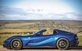 Ferrari 812 GTS 2020 UK first drive review - roof off