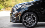 Fiat 500x Sport 2019 first drive review - alloy wheels