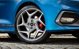 Ford Fiesta ST 2018 UK first drive review alloy wheels
