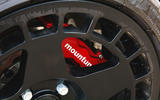 Ford Fiesta ST Mountune m235 2020 first drive review - brake calipers