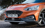 Ford Focus Active 2019 first drive review - nose