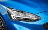 Ford Focus ST-Line 182PS 2018 UK first drive review - headlights