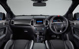 Ford Ranger Raptor 2018 first drive review interior shot