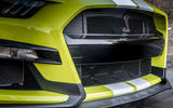 Ford Shelby Mustang GT500 2020 first drive review - front grille