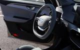 Geely Geometry A 2019 prototype drive - steering wheel