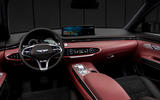 Genesis GV70 - interior