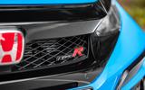 Honda Civic Type R 2020 UK first drive review - nose badge
