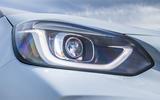 Honda Jazz Crosstar 2020 UK first drive review - headlights