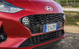 Hyundai i10 2020 first drive review - front bumper