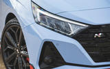 4 Hyundai i20 N 2021 UK first drive review headlights