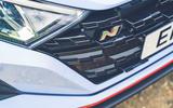 4 Hyundai i20N 2021 RHD UK FD nose badge