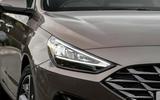 Hyundai i30 2020 UK first drive review - headlights