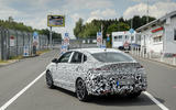 Hyundai i30 Fastback prototype official photo Nurburgring 3