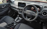 4 Hyundai Kona 1.6 hybrid 2021 UK first drive review cabin