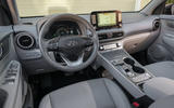 Hyundai Kona Electric 2018 first drive review dashboard