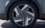 Hyundai Nexo 2019 first drive review alloy wheels