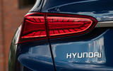 Hyundai Santa Fe 2018 UK first drive review - rear lights