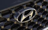 4 Hyundai Santa fe 2021 UK first drive review nose badge