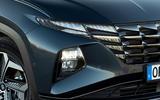 Hyundai Tucson 2020 UK first drive review - headlights