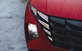 4 Hyundai Tucson MHEV 2021 uk first drive review headlights