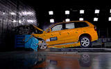 Volvo crash testing