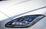 Jaguar E-Pace D150 2018 review headlights