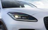 4 Jaguar E Pace P300e 2021 uk first drive review headlights