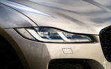 4 Jaguar F Pace 2021 UK first drive review headlights