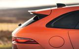 4 Jaguar F Pace SVR 2021 UK first drive review rear end