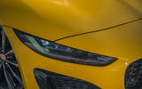 Jaguar F-Type Coupé 2020 first drive review - headlights