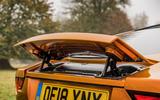 Jaguar F-Type MY2018 first drive review - spoiler