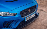 Jaguar XE SV Project 8 Touring 2019 UK first drive review - front end
