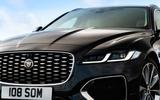 4 Jaguar XF Sportbrake 2021 UK first drive review nose