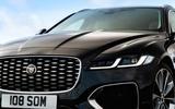 4 Jaguar XF Sportbrake P250 2021 UK review front end