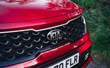 Kia Sorento hybrid 2020 UK first drive review - nose