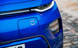 Kia Soul EV 2020 UK first drive review - charging port